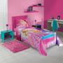 Jogo De Cama Solteiro Barbie Rock Royals 2 Pçs Lepper