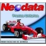 Neodata 2009 Precios Unitarios Actualizado Al 2017