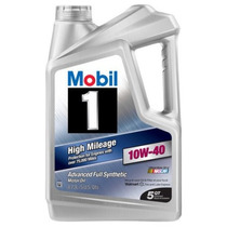 Mobil 1 10w-40 De Alto Millaje Completo Sintético De Aceite