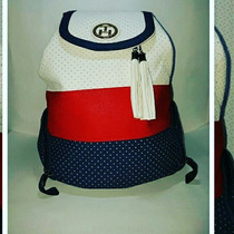 Morral Y Cartera Tommy Hilfiguer