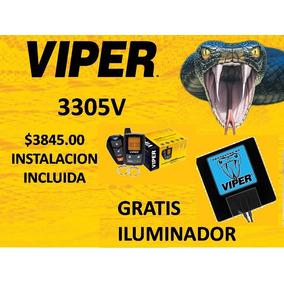 Viper 3305 Instalada, Garantia De Por Vida, Pago Deducible