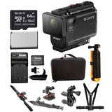 Sony Hdras50 / B Cámara De Acción Full Hd (negro) Amp; Kit