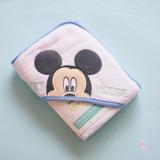 Toallon Con Capucha Minnie Mickey