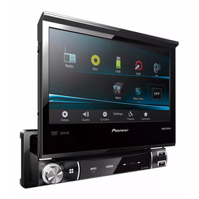 Reproductor Pioneer Avh-x6550dvd 1din Touch Original Mixtrax