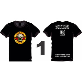 Remera Guns N Roses Not In This Lifetime Tour 2017