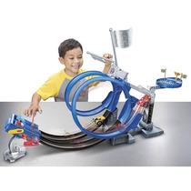 Pista Disney Cars Riplash Racers Relâmpago Mcqueen Mattel