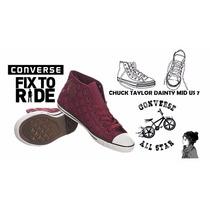 Zapatilla Converse Chuck Taylor Dainty Mid Us 7