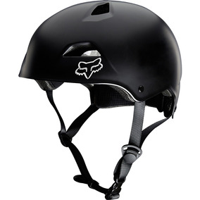 Casco De Bicicleta Fox Flight Sport Color Negro S