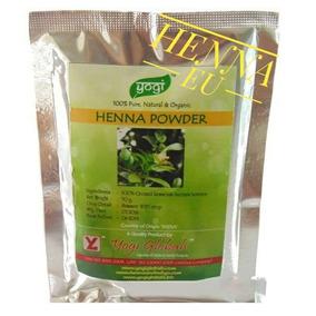Henna Powder Yogi Globals 50g 100% Pura Da Índia