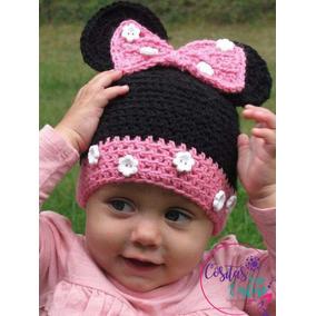Gorros Minnie Mouse Tejidos A Crochet