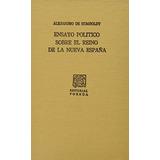 Libro Ensayo Politico Sobre El Reinode La Nueva España (po