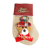Elaco Christmas Sock Decoration Cubierta De Vajilla Candy B