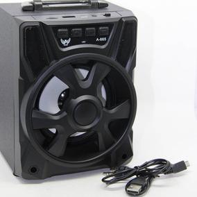 Caixa Caixinha Som Bluetooth Portátil Mp3 Pendrive Fm Sd