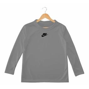 Camiseta Lycra Mangas Largas Niños adidas Nike Puma Under A