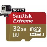 Memoria Micro Sd Xc Sandisk Extreme 32gb U3 C-10 Uhs-i Gopro