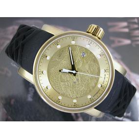 Relógio Original Invicta Yakuza Automatico Plaque Ouro 15863