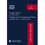 Código Penal. Ley 599 De 2000. Códigos De Procedimiento Pena
