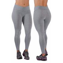 Kit Com 03 Calças Leg Suplex Legging Fitness/academia