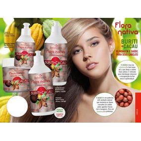 Kit Shampoo Mix Burti + Cacau Sem Sal + Brinbe