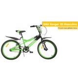 Bicicleta Monark Bmx Ranger Aro 20 Verde