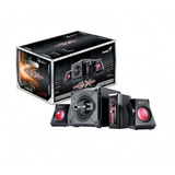 Parlantes Gamer 2.1 Genius 1250 38w - Red Technology