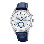 Reloj Festina Cronómetro De Cuero De Hombre F20286/1