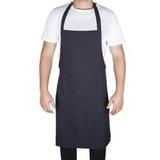 Avental Preto,buffet,uniforme,churrasco,garçom,bar,salão