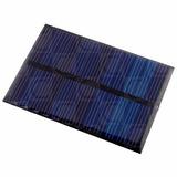 Celda Panel Solar Módulo Energía 6v 100ma 0.6w Arduino Pic