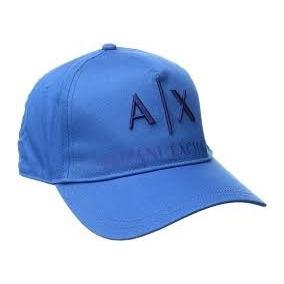 Excelente Gorra Azul Armani Exchange Ax Nueva Y Original