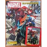 Album Super Héroes Marvel Completo