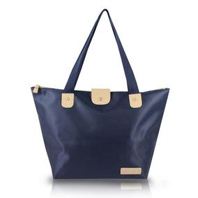 Bolsa Dobrável Azul Escuro