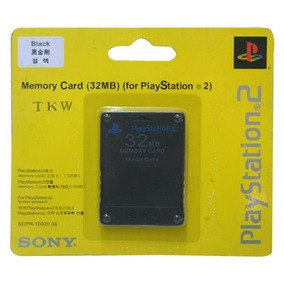 Memory Card Playstation 2 Ps2 32 Mb Original