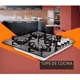 Tope De Cocina De 60cm 4 Hornillas De Vitroceramica De Lujo