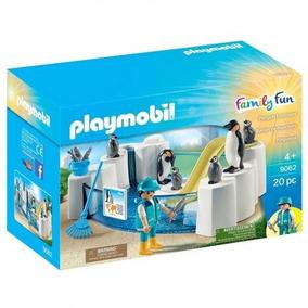 Playmobil Aquário Piscina Dos Pinguins Pinguinário Sunny