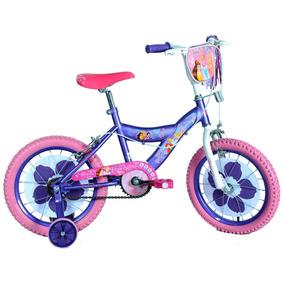 Bicicleta Princesas Rodado 16 Original Disney