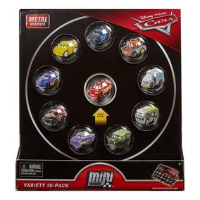Mini Carros Disney/pixar Cars 10 Micro Racers Metal Surtidos
