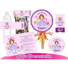 Princesa Sofia 1 Kit Imprimible Personalizado