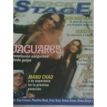 La Revista Rock Stage: Portada Y Reportaje De Jaguares 2001