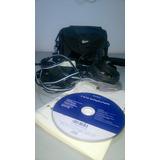 Filmadora Portatil Sony Dcr-sr57 Hdd 80gb, Zoom Ótico 60 X