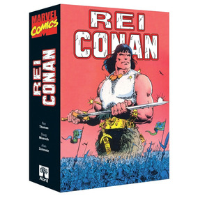 Caixa (box) Para Rei Conan (1995) - Formatinho Ed. Abril