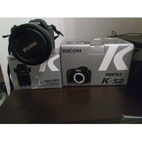 Cámara Dslr Pentax Ks2+lente Pentax 16-85+batería+bolso