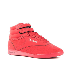 Zapatillas Reebok Freestyle Flower Ultralite Mujer Rosa