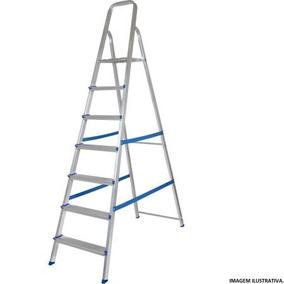 Escada Alumínio Mor 7 Degraus