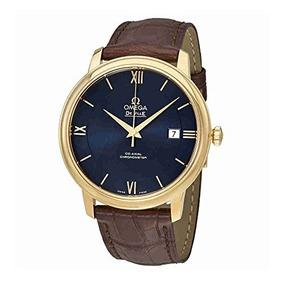 Omega De Ville Prestige Reloj Co-axial Automático Azul Dial