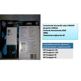 Cartuchos Hp 85 Originales Para Plotters Azul Y Magenta