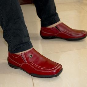 Zapatos Mocasines De Cuero Original Maxi