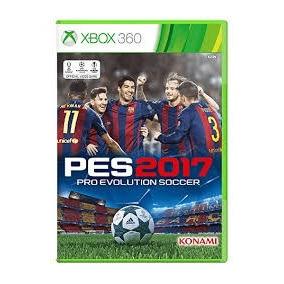 Pes 2017 Xbox 360 Mídia Física Lacrado