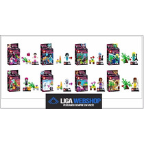Liga- Set 08 Minifiguras Monster Hied Similar Ao Lego