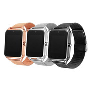 Smartwatch Z60 - Reloj Inteligente Bluetooth Cámara Metálico