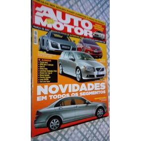 Revista Auto Motor N° 213 Volvo V 70 - Fiat Bravo - Audi R 8